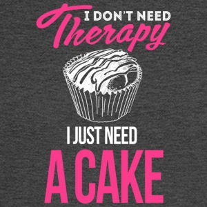 I Don't Need Therapy. I Just Need Cake - Men's Long Sleeve T-Shirt