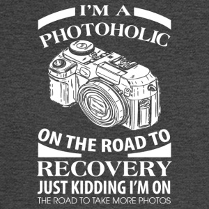 I'm A Photoholic On The Road To Discovery - Men's Long Sleeve T-Shirt