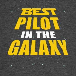 Best Pilot In The Galaxy - Men's Long Sleeve T-Shirt