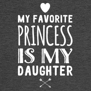 My favorite princess is my daughter - Men's Long Sleeve T-Shirt