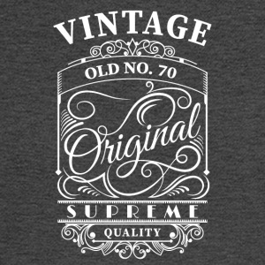 Vintage old no 70 - Men's Long Sleeve T-Shirt