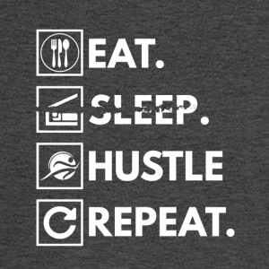 Eat sleep hustle repeat - Men's Long Sleeve T-Shirt