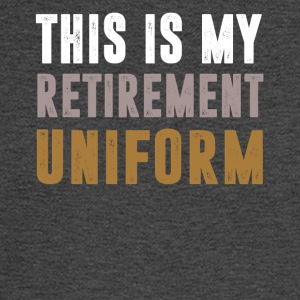 This Is My Retirement Uniform - Men's Long Sleeve T-Shirt