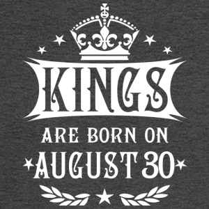 Kings are born on August 30 - Men's Long Sleeve T-Shirt