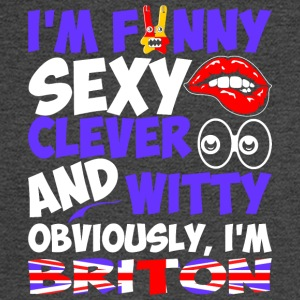 Im Funny Sexy Clever And Witty Im Briton - Men's Long Sleeve T-Shirt