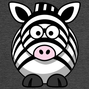 Funny Zebra Comic Style - Men's Long Sleeve T-Shirt