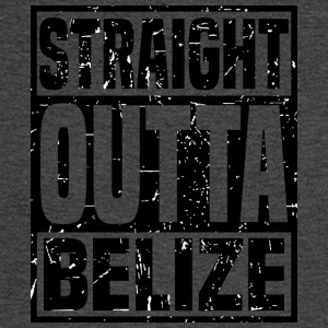 Straight Outta Belize - Men's Long Sleeve T-Shirt