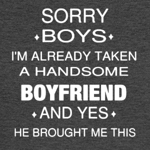 Taken A Handsome Boyfriend Tee Shirt - Men's Long Sleeve T-Shirt