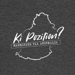 Ki Position? (Mauritius via Australia) - WHITE - Men's Long Sleeve T-Shirt