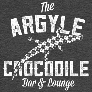 Argyle Crocodile T Shirt - Men's Long Sleeve T-Shirt
