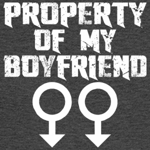 Property Of My Boyfriend - Men's Long Sleeve T-Shirt