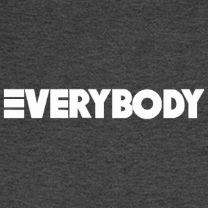 Everybody White - Men's Long Sleeve T-Shirt