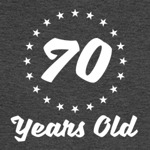 70 Years Old - Men's Long Sleeve T-Shirt