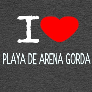 I LOVE PLAYA DE ARENA GORDA - Men's Long Sleeve T-Shirt