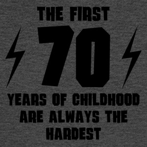 The First 70 Years Of Childhood - Men's Long Sleeve T-Shirt