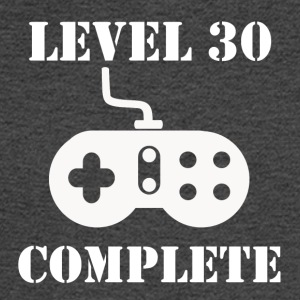 Level 30 Complete 30th Birthday - Men's Long Sleeve T-Shirt