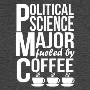 Political Science Major Fueled By Coffee - Men's Long Sleeve T-Shirt
