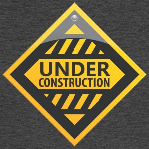 Road_sign_under_construction - Men's Long Sleeve T-Shirt