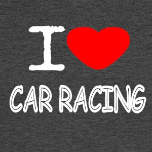 I LOVE CAR RACING - Men's Long Sleeve T-Shirt