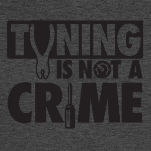 Tuning is not a crime - Men's Long Sleeve T-Shirt