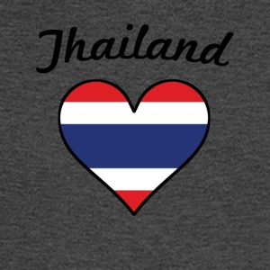 Thailand Flag Heart - Men's Long Sleeve T-Shirt