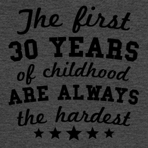 30 Years Of Childhood 30th Birthday - Men's Long Sleeve T-Shirt
