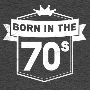 BORN IN THE 70S - Men's Long Sleeve T-Shirt