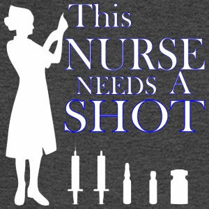 This Nurse Needs A Shot - Men's Long Sleeve T-Shirt