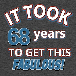 68th birthday design - Men's Long Sleeve T-Shirt