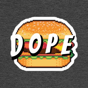 'Dope' Burger - Men's Long Sleeve T-Shirt