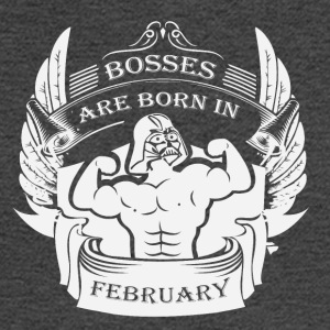 Bosses are born in February - Men's Long Sleeve T-Shirt