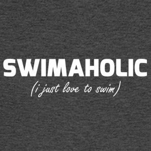 Swimaholic Just love to swim - Men's Long Sleeve T-Shirt