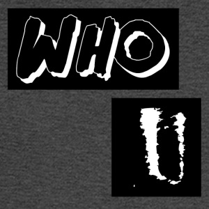 Who U Abstract Design - Men's Long Sleeve T-Shirt