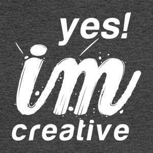 Yes I`m Creative - Men's Long Sleeve T-Shirt