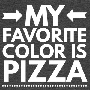 My favorite color is Pizza - Men's Long Sleeve T-Shirt