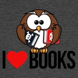 I LOVE BOOKS - Men's Long Sleeve T-Shirt