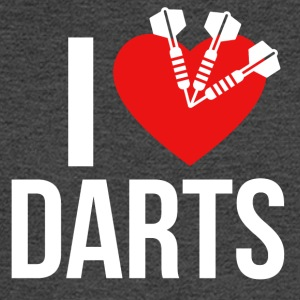 I LOVE DARTS - Men's Long Sleeve T-Shirt