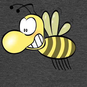 Funny Bee Smiling - Men's Long Sleeve T-Shirt