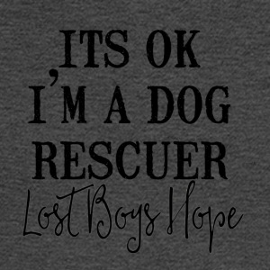 dog resuer - Men's Long Sleeve T-Shirt