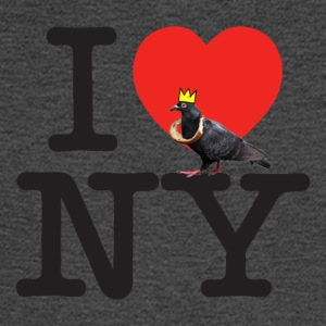 i pigeon ny crown - Men's Long Sleeve T-Shirt
