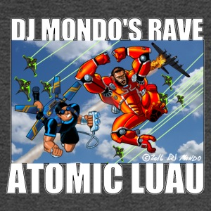 DJ Mondo' Rave: Fall of the Heroes - Men's Long Sleeve T-Shirt
