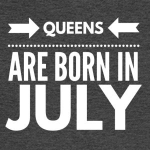 Queens Born July - Men's Long Sleeve T-Shirt