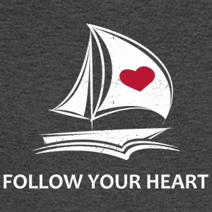 Follow Your Heart - Men's Long Sleeve T-Shirt