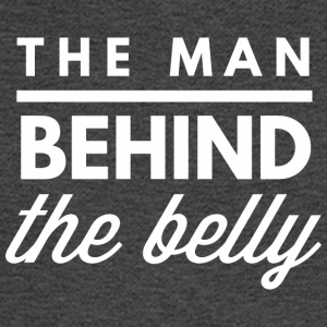 The man behid the belly - Men's Long Sleeve T-Shirt