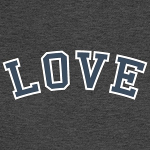 Love - Collegiate (Blue/White) - Men's Long Sleeve T-Shirt