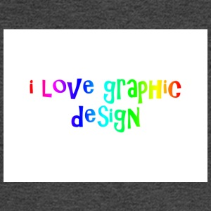 i love graphic design - Men's Long Sleeve T-Shirt
