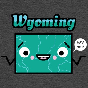 WY Oming - Men's Long Sleeve T-Shirt