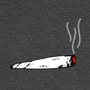 LIT WHITE BLACK GREY AND RED JOINT - Men's Long Sleeve T-Shirt