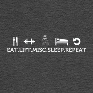 Eat lift sleep misc repeat - Men's Long Sleeve T-Shirt