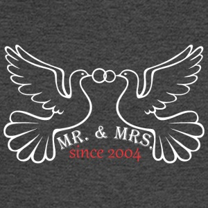 Mr And Mrs Since 2004 Married Marriage Engagement - Men's Long Sleeve T-Shirt